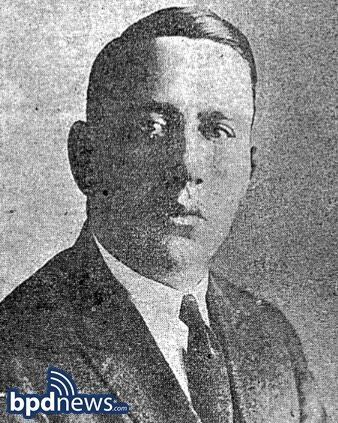 BPD Remembers  the Service and Sacrifice of Lieutenant Benjamin Alexander Killed in the Line of Duty 96 Years Ago Today
