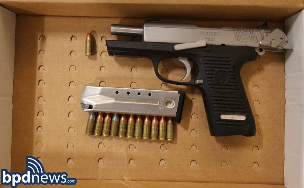 Officers Recover a Loaded Firearm After a Warrant Arrest in Roxbury