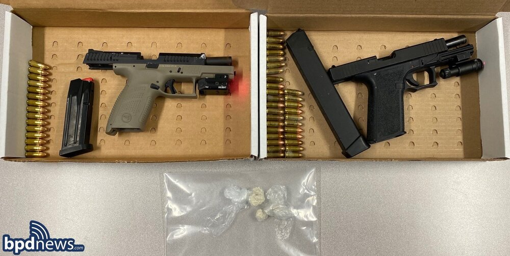 Two Boston Men Arrested on Drug and Weapon Charges