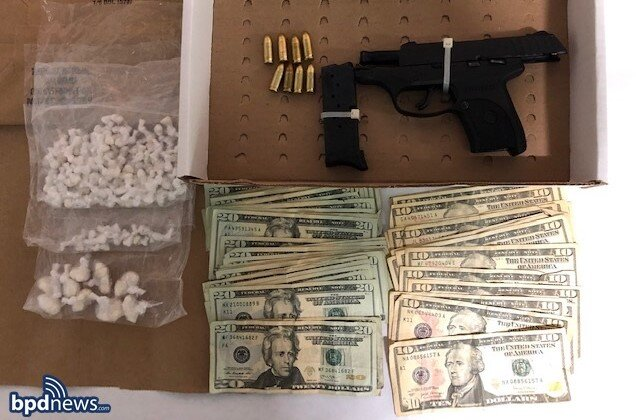 Worcester Man Arrested in Roxbury on Drug Trafficking Charges and Unlawful Possession of a Firearm