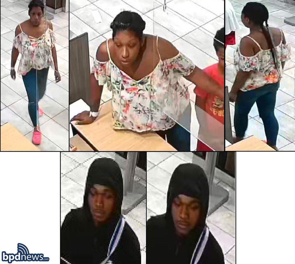 Boston Police Need Assistance in Locating the Following Individuals
