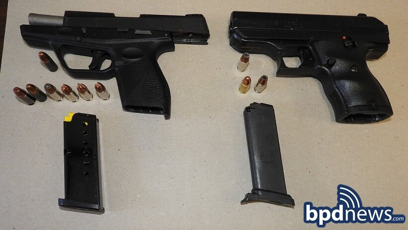 Four Additional Suspects Placed in Custody and Two Loaded Firearms Recovered while BPD Officers Arrest Non-Fatal Shooting Suspect