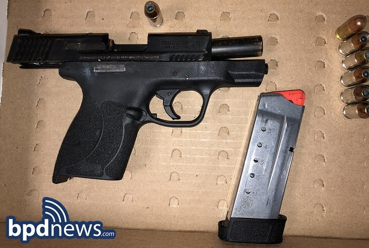 Loaded Firearm Recovered During Potentially Dangerous Domestic Dispute in Boston