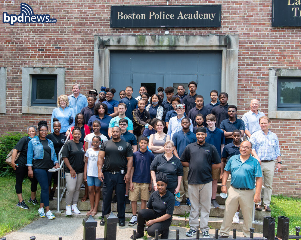 BPD in the Community: Boston Teen Police Academy Enjoys Day Focused on STEM Activities in Hyde Park