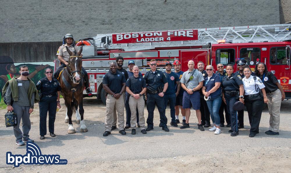 BPD in the Community: First Responder Appreciation Day Held in Roxbury