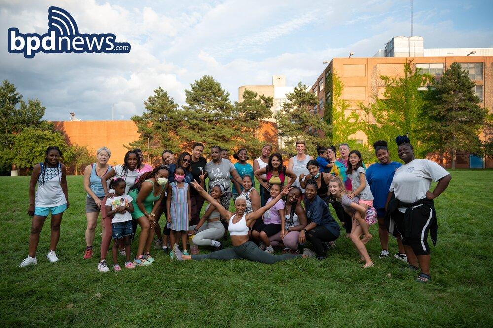 BPD in the Community: Dancing in the Park Program Held in Jamaica Plain