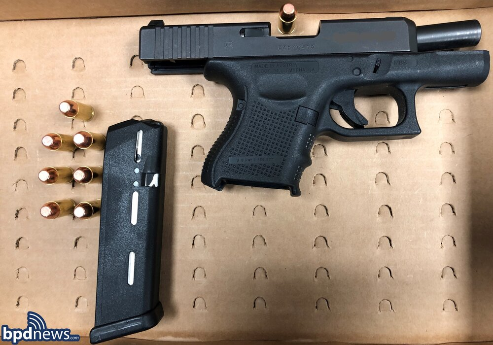Loaded Firearm Recovered after a Traffic Stop in Mattapan