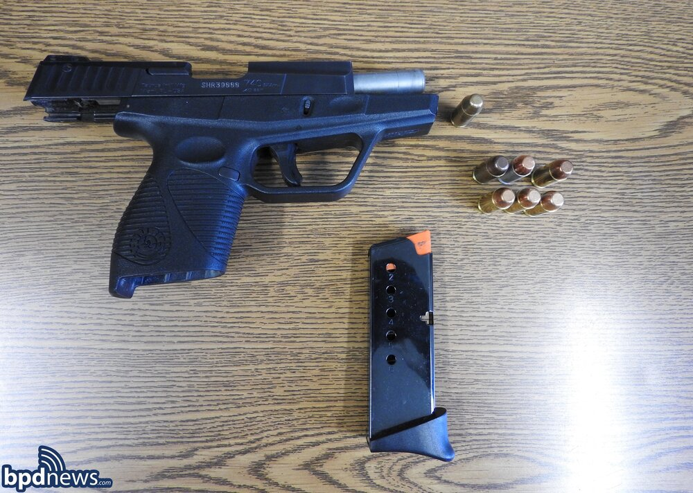 Officers Recover a Loaded Firearm after a Traffic Stop in Dorchester