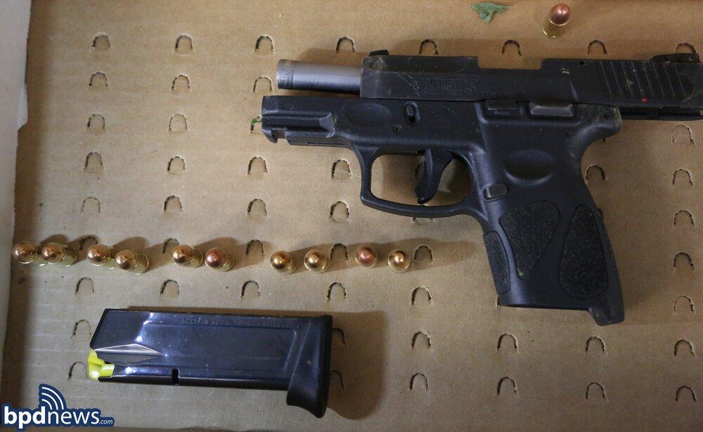 Officers Arrest Male with Loaded Firearm in Roxbury