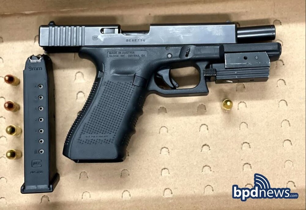 Another Gun off the Street: Youth Violence Strike Force makes Firearm Arrest in Dorchester