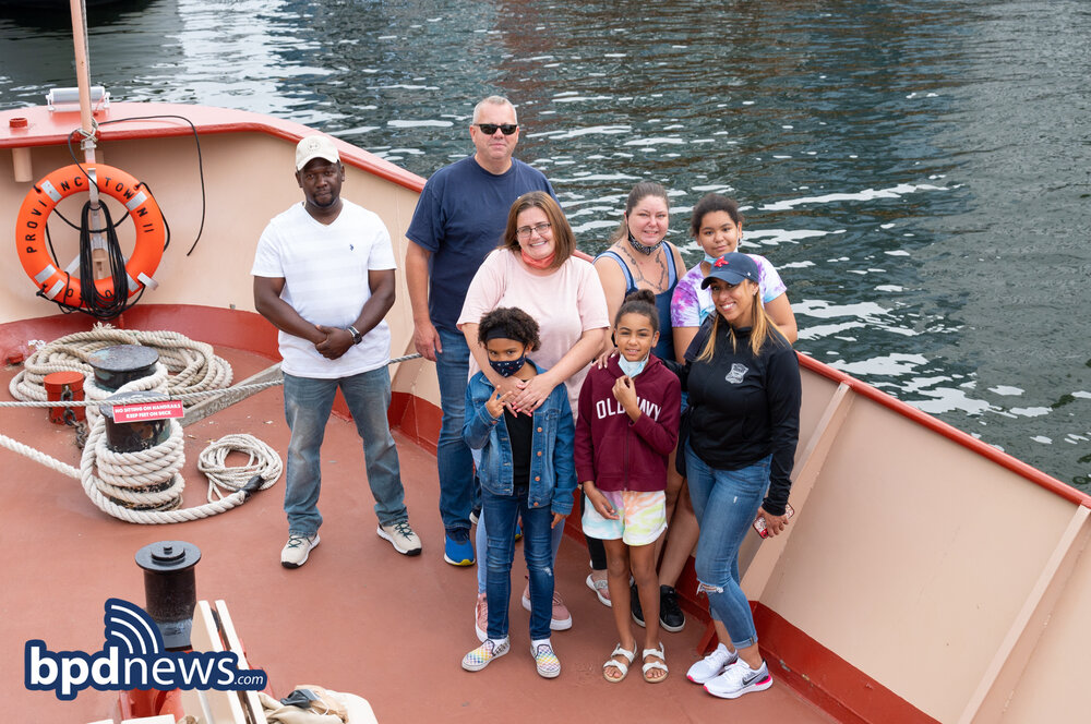 BPD in the Community: Young People from the Condon Community Center Enjoy a Day on Spectacle Island