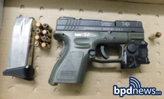 BPD Officers Arrest Suspect After Recovering Loaded Firearm During Investigation in Dorchester