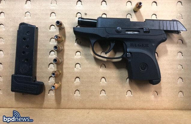 Two Men Arrested on Gun Charges After a Traffic Stop in the South End