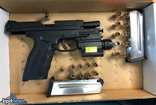 Officers Arrest Canton Man on Gun Charges after a Road Rage Incident in Roxbury