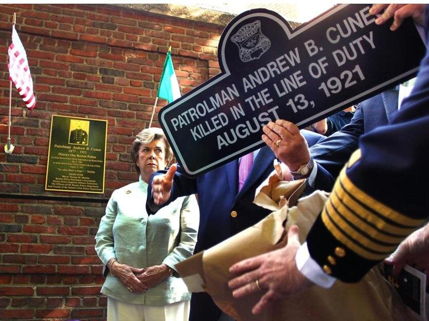 The Boston Police Department Remembers the Service and Sacrifice of Officer Andrew B. Cuneo