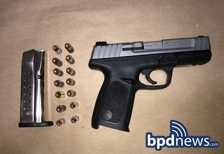Suspect in Custody and Firearm Recovered After BPD Officers Respond to Person with a Gun Call in Dorchester