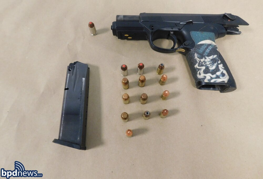 Officers Arrest Brockton Man on Firearm Charges in Dorchester