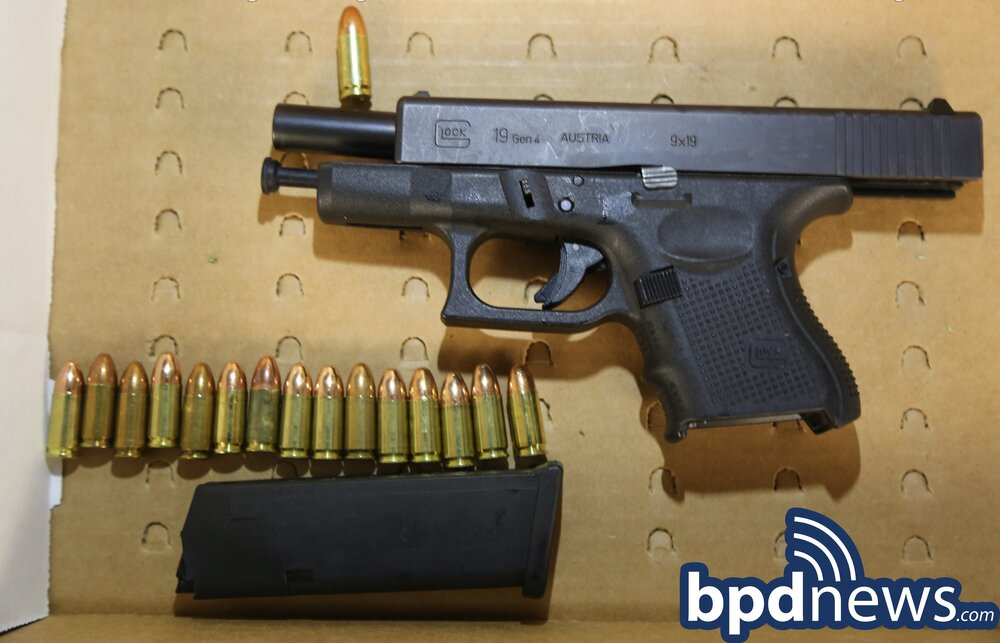Foot Chase Leads to the Recovery of Two Loaded Firearms in Roxbury