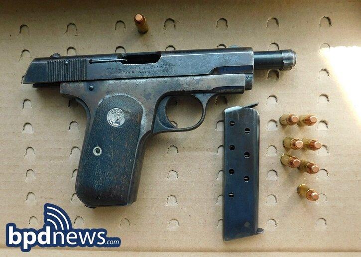 BPD Officers Make Firearm Arrest While Establishing Crime Scene at Fatal Stabbing in Dorchester