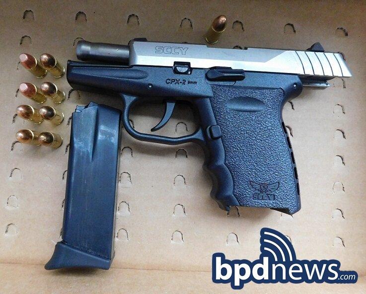 Juvenile Suspect Arrested in Roxbury After BPD Officers Observe Gun in Hand