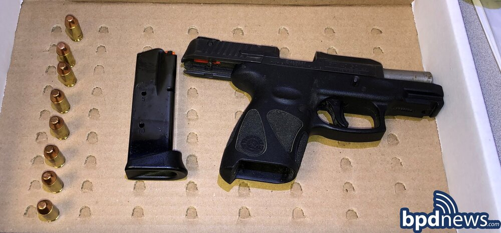 B-3 Detectives Recover Firearm Following the Execution of a Search Warrant