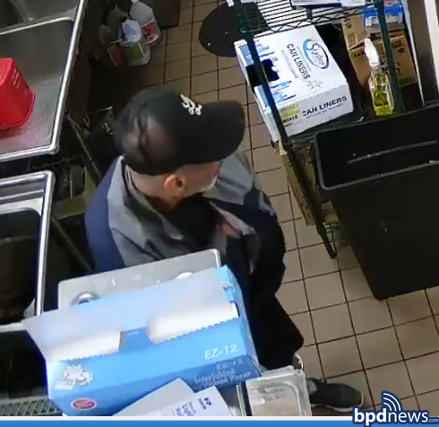 Community Alert: The Boston Police Department is Seeking the Public's Help to Identify a  Suspect Wanted in Connection to a Commercial Burglary in Roxbury