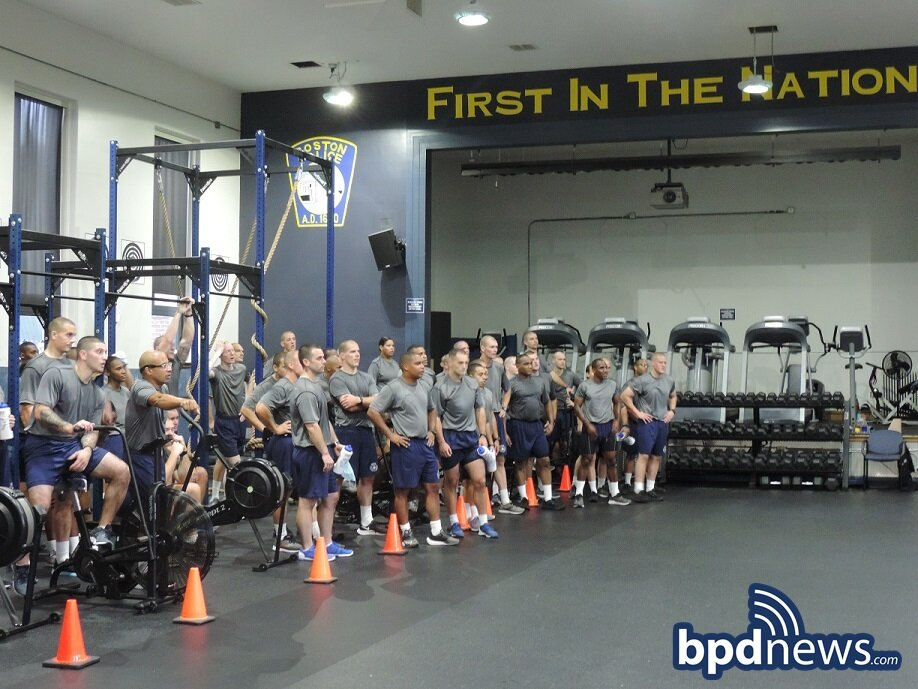 Congratulations to BPD Recruit Class 61-21 on Earning Their White Guidon Flag