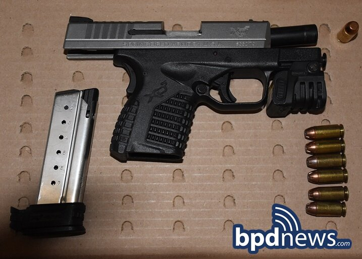 Following a Traffic Stop and Foot Chase, B-3 Officers Recover Loaded Firearm