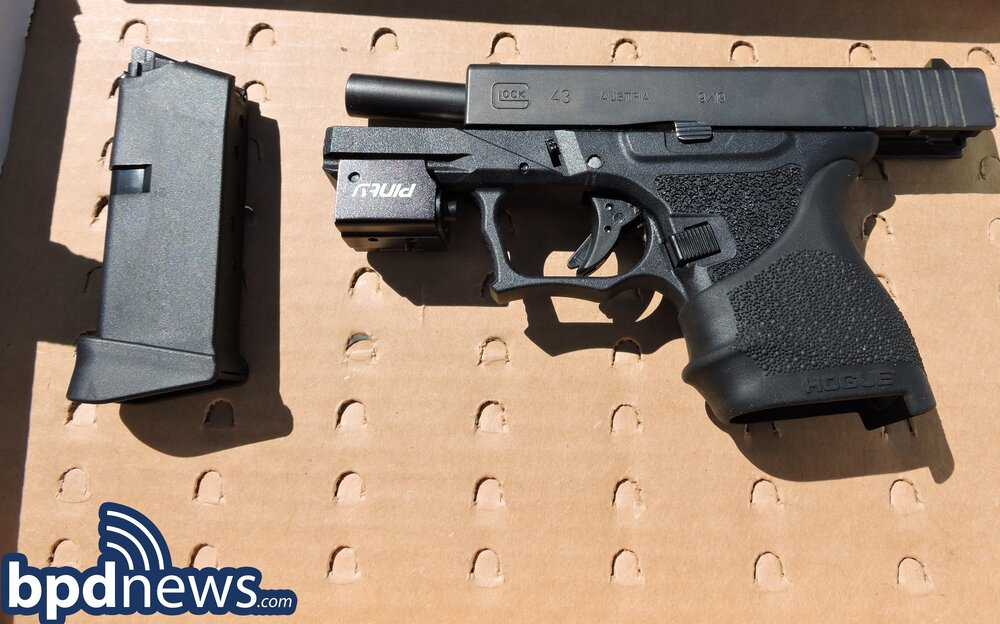 Officers and Detectives from B2 Make Firearm Arrest Following Investigation