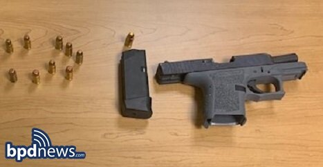 Suspect Placed in Custody After BPD Officers Recover Loaded Firearm During Traffic Stop in Dorchester