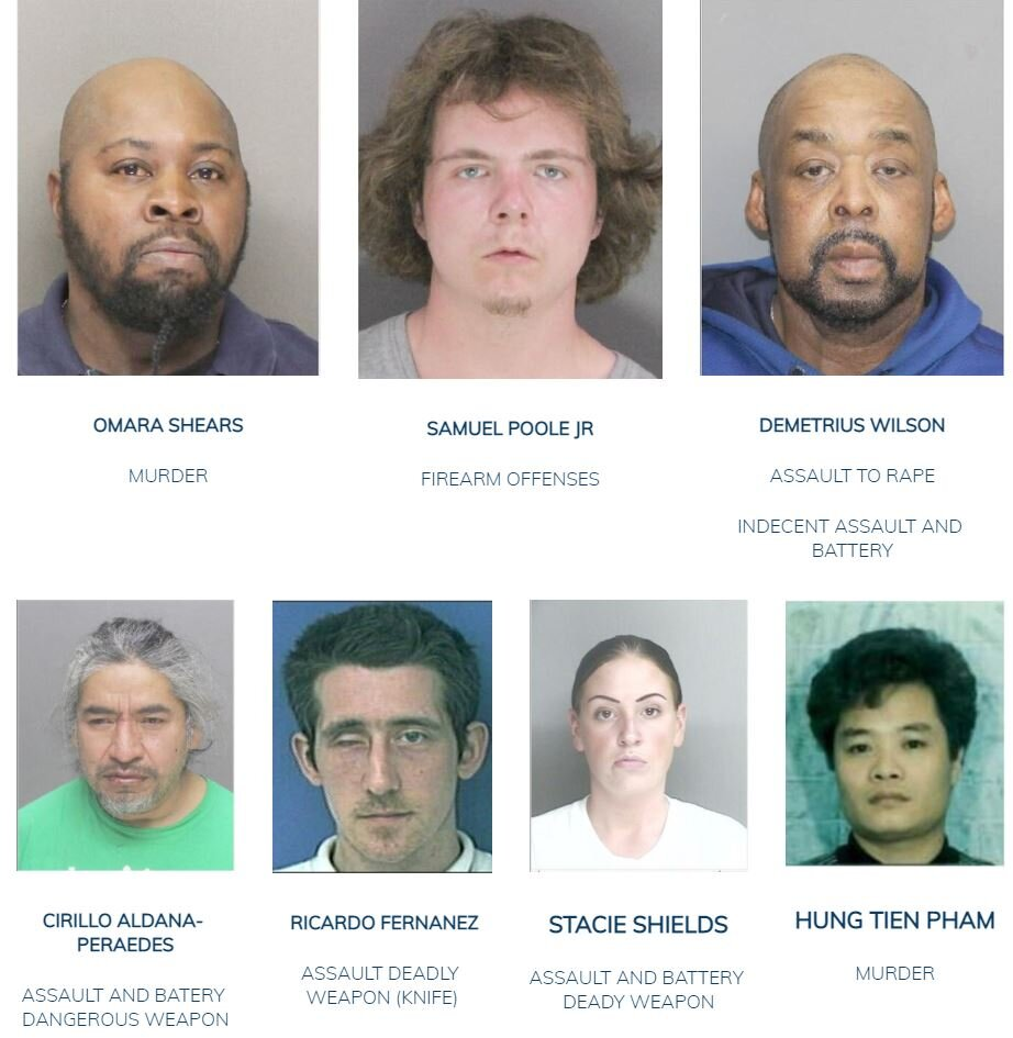 Community Alert for September 12, 2021: Have You Seen Us? Boston Police Update Most Wanted List