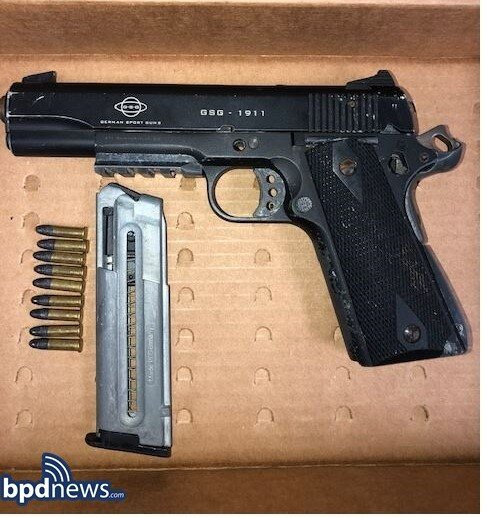 District E-18 Officers Recover Loaded Firearm Following a Call for a Fight