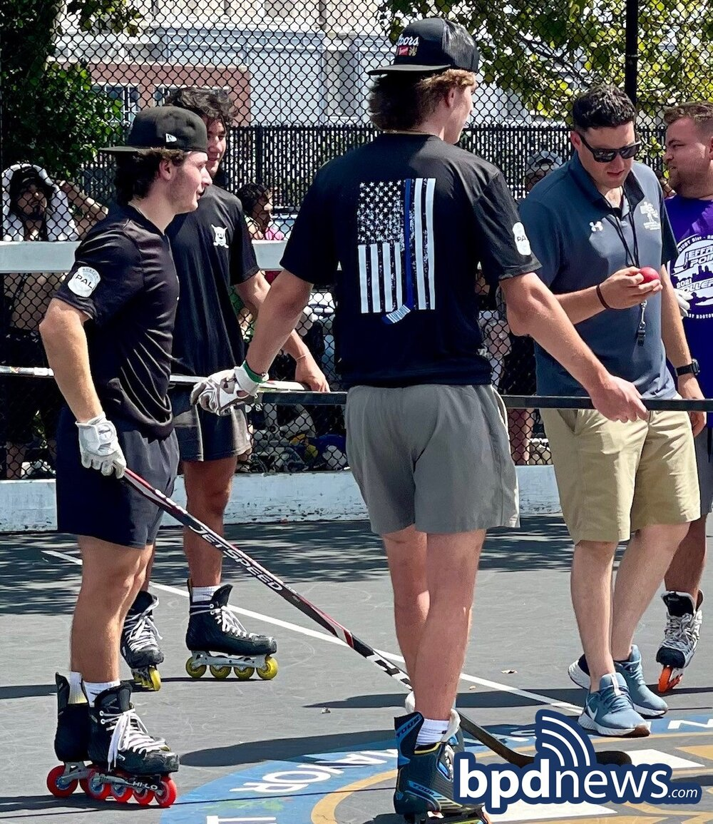 BPD in the Community: Team Sponsored by the Boston Police Hockey Skills Program Participates in Tournament in East Boston
