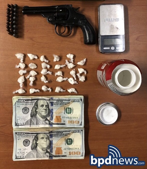 Search Warrant Leads to the Recovery of Loaded Firearm, Drugs and Cash in Roxbury