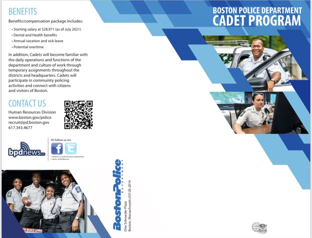 The Boston Police Department is Now Accepting Applications for Boston Police Cadet