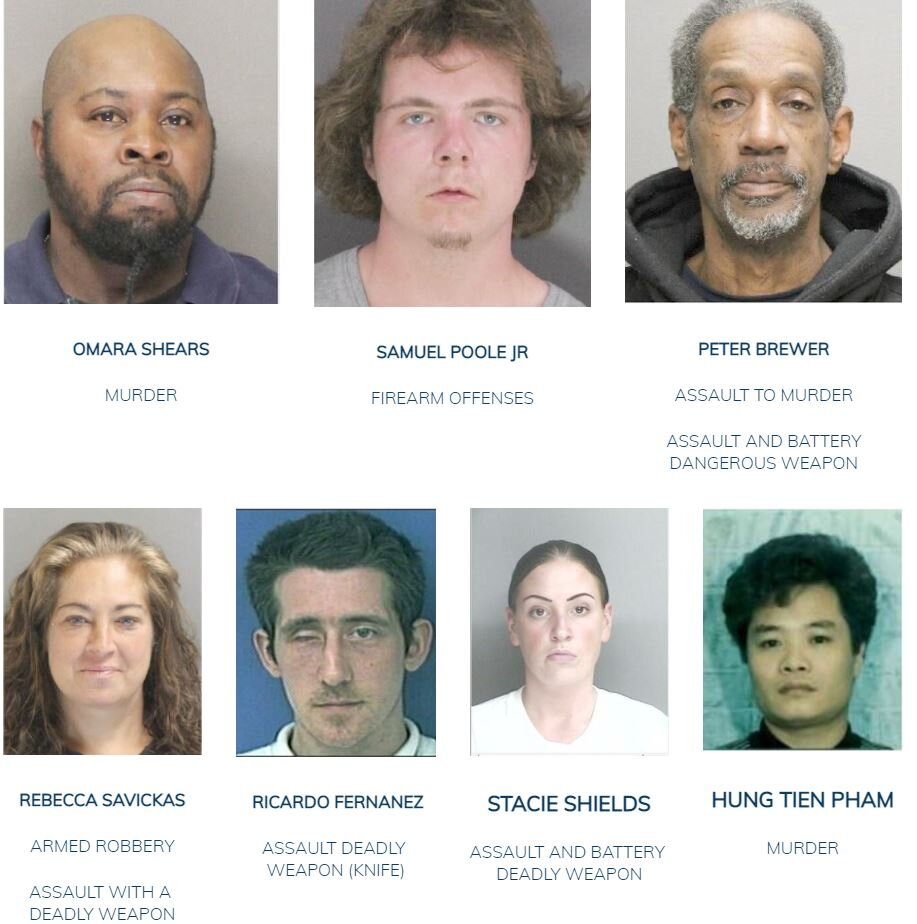 September 20, 2021: Have You Seen Us? Boston Police Update Most Wanted List
