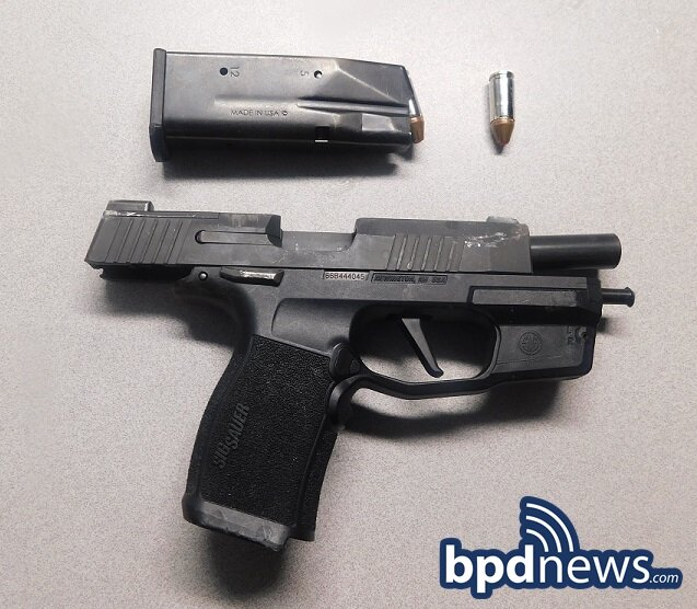 Suspect in Custody After BPD Officers Recover Loaded Firearm Following Traffic Stop in Dorchester