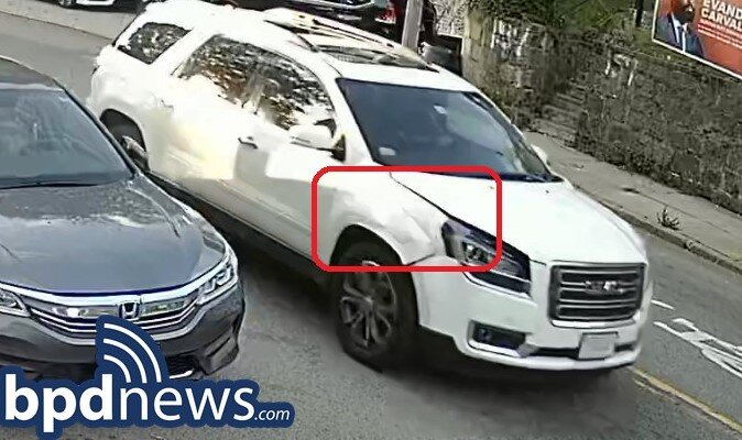 INVESTIGATION  UPDATE: The Driver has been Identified in Connection to a Hit and Run in Dorchester