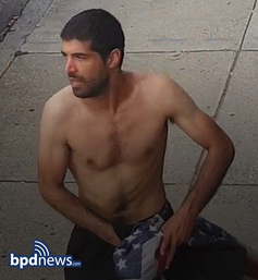 BPD Seeking Help in Identifying the Following Individual in a Vandalism and Larceny Incident in Dorchester