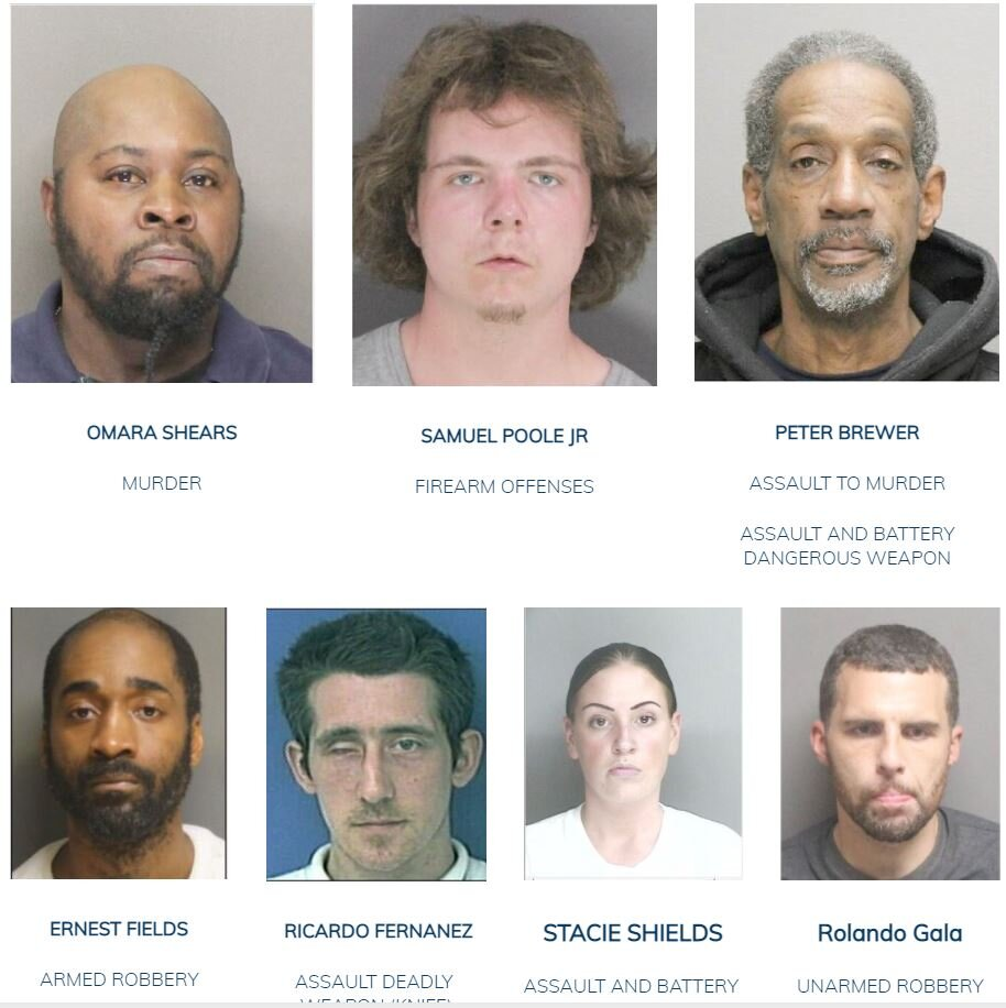 October 6, 2021: Have You Seen Us? Boston Police Update Most Wanted List
