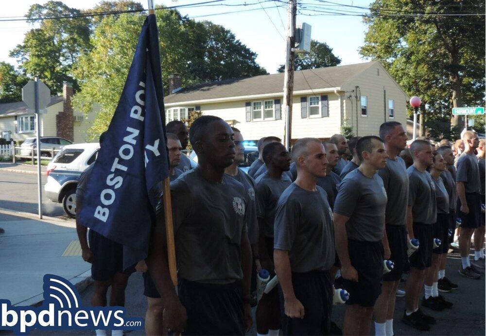 BPD Recruit Class 61-21 Passes Important Training and Education Milestone