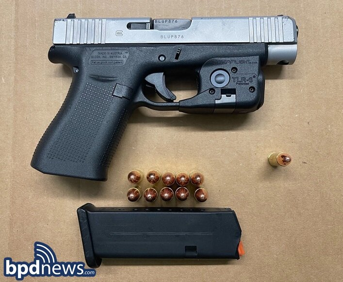 Suspect in Custody After BPD Officers Recover Loaded Firearm, Drugs and Cash During Traffic Stop in Roxbury