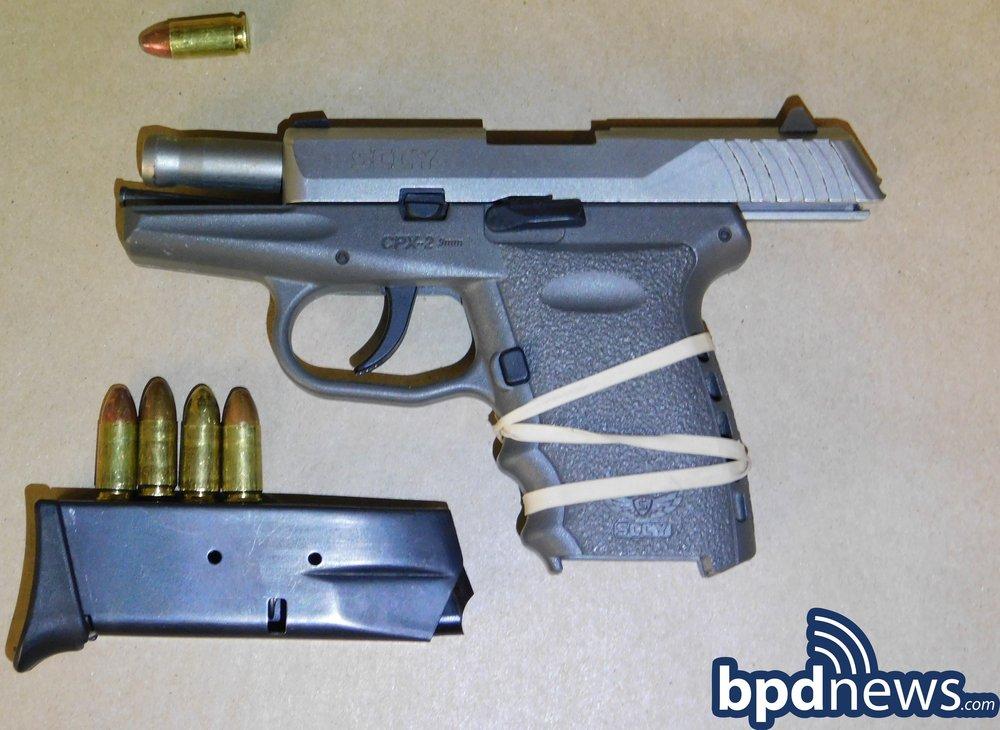 B2 Officers Make Firearm Arrest Following Traffic Stop