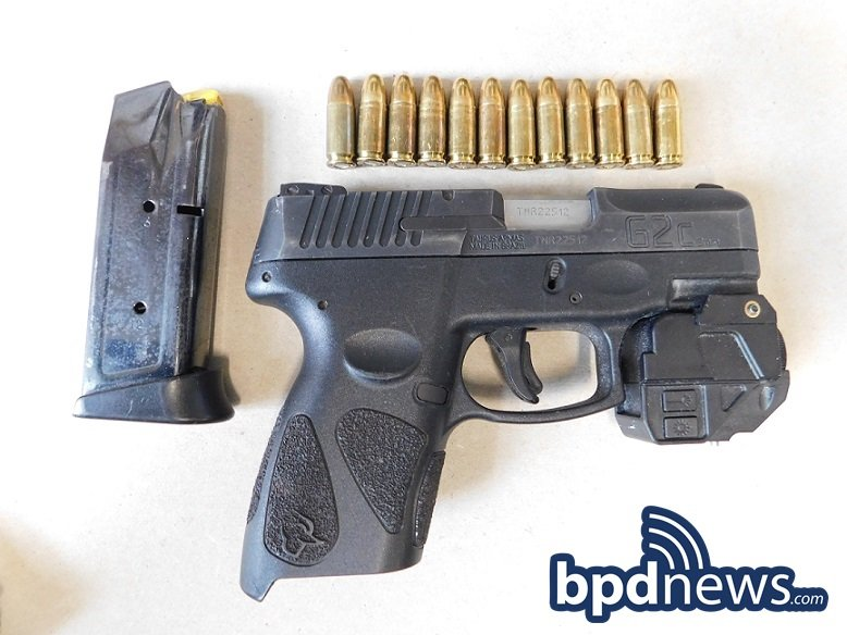 Suspect in Custody After BPD Officers Recover Loaded Firearm Following Response to Call for a Person with a Gun in Roxbury