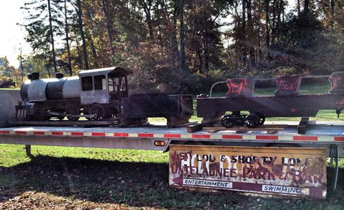 Ontelaunee Park Train Restoration Project