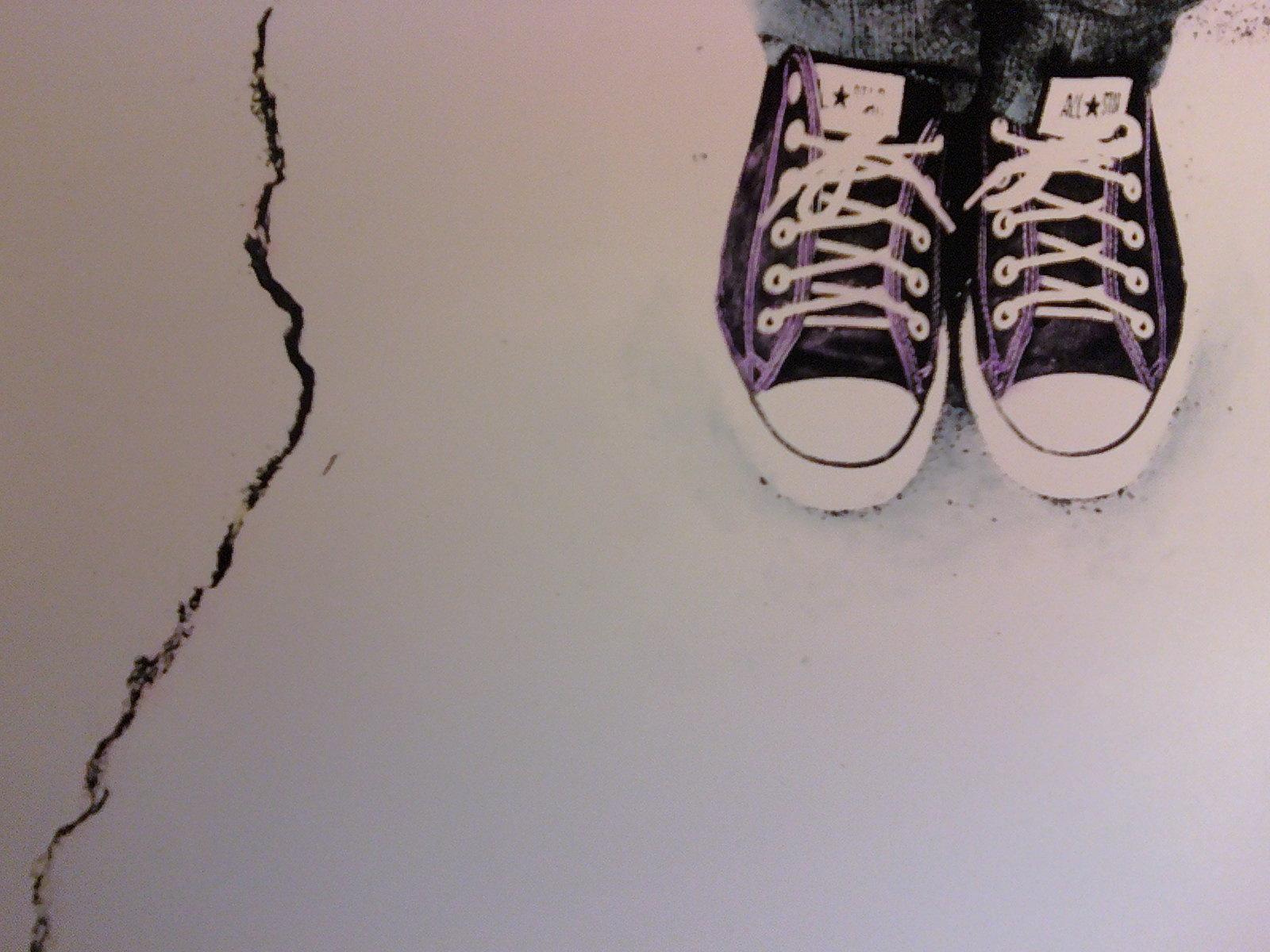 Cracked Pavement - ©Amanda Benincasa