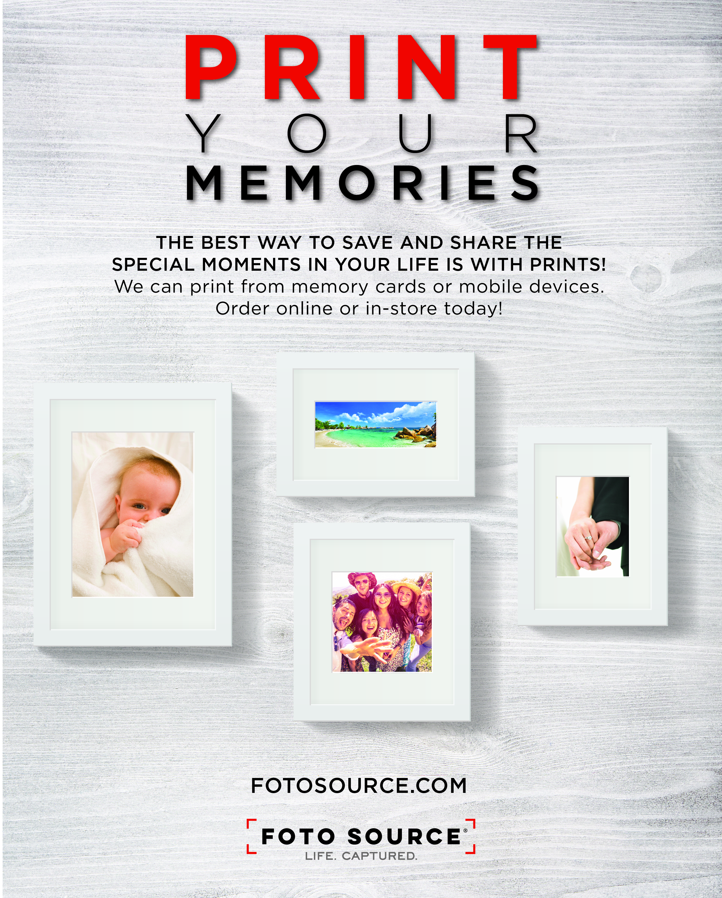 16x20 Print Poster for Foto Source