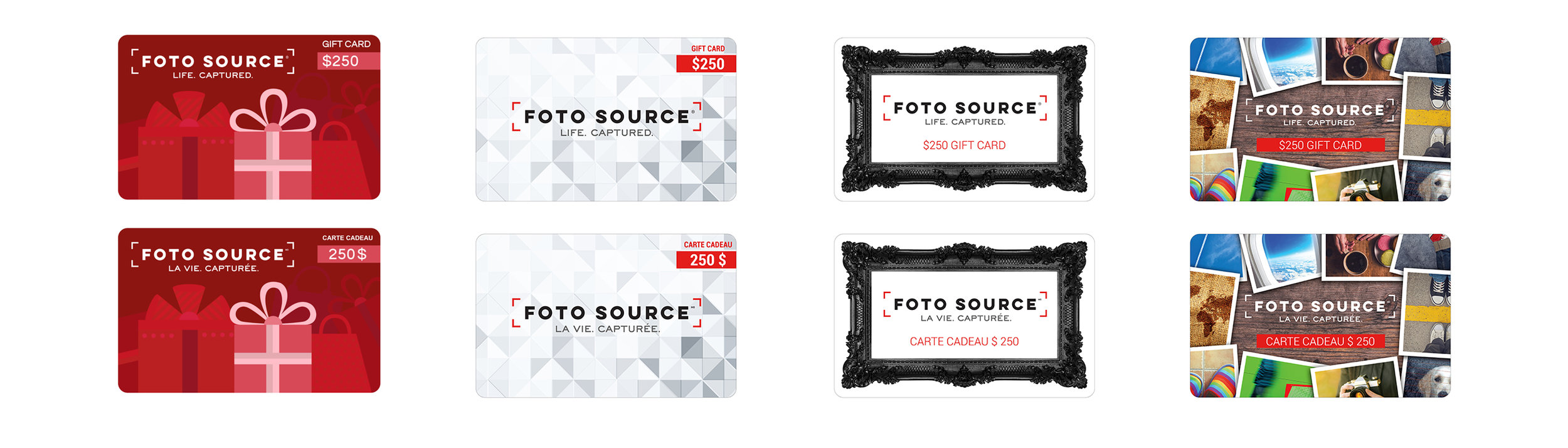 Foto Source Gift Card Designs