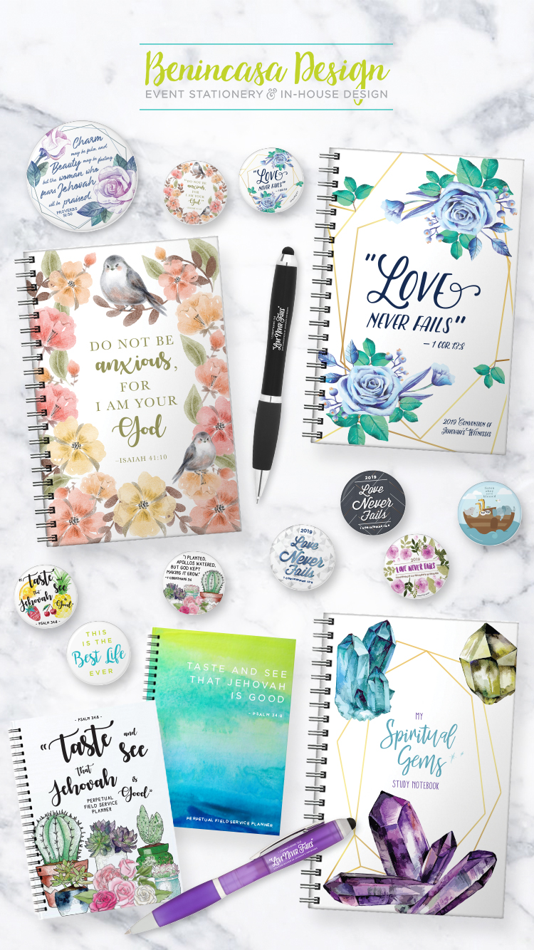 Etsy Stationery & Promo Products for Benincasa Design