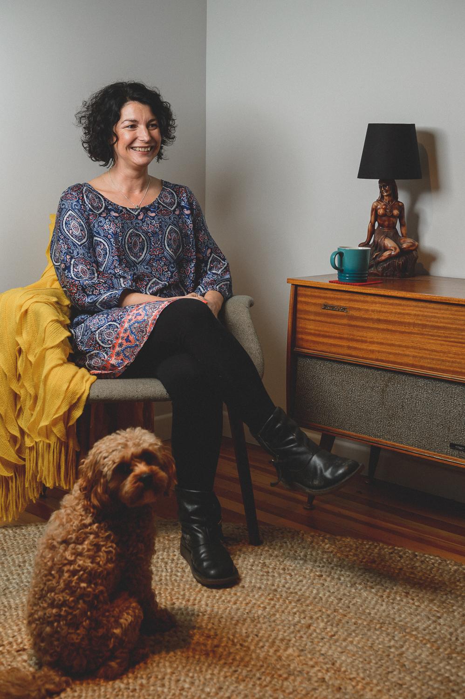 Paula Kelly Portrait Shoot in Titirangi, Auckland, New Zealand on July 24, 2014.